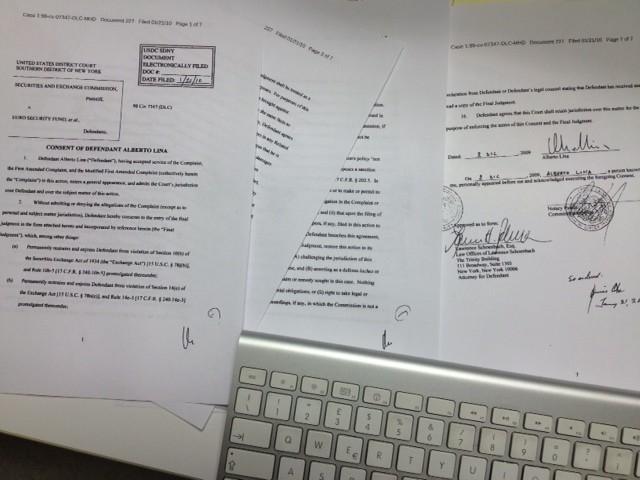 La condanna Sec brucia Lina, Pisapia non firma