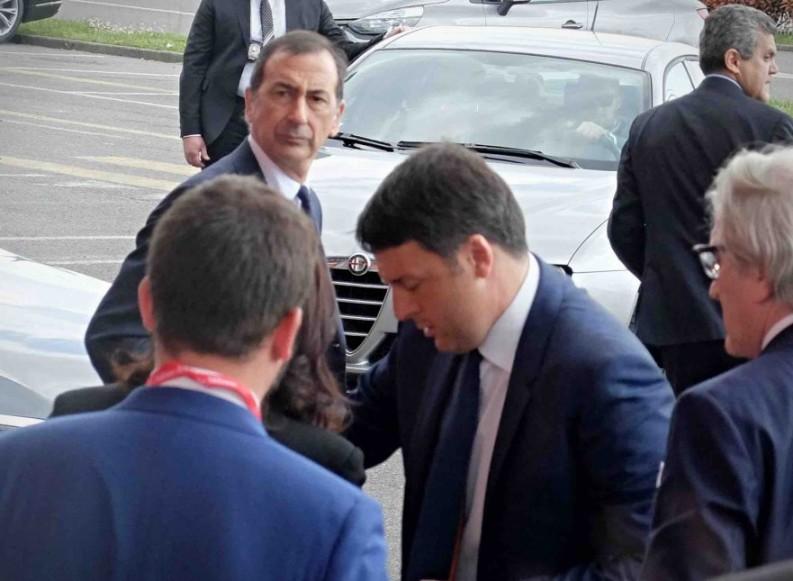 Parisi raggiunge Sala. E Renzi non ci mette più la faccia