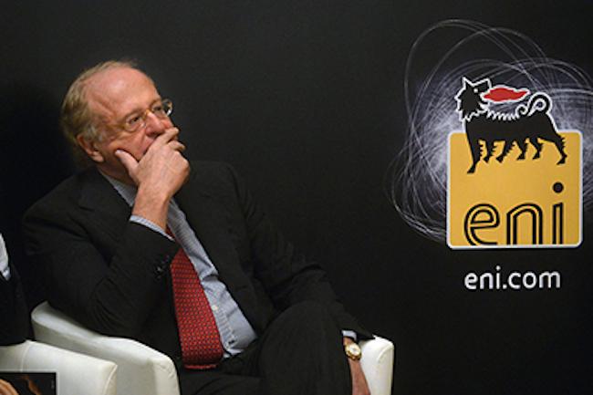Scaroni (Eni) torna imputato per le tangenti algerine