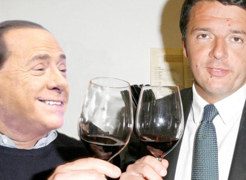 L'incontro segreto (inutile) tra Silvio e Matteo