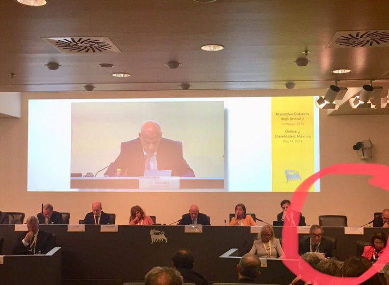 I silenzi dell'assemblea Eni 2019. E la consigliera Litvack sparisce