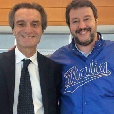 Salvini tenta il blitz su Fontana: è troppo anche il coprifuochino di Milano