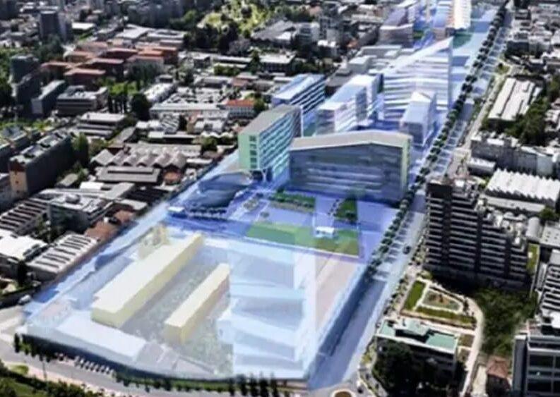 """Sala e la """"corrente del golfo"""" di Milano: cemento olimpionico sullo Scalo Romana"""