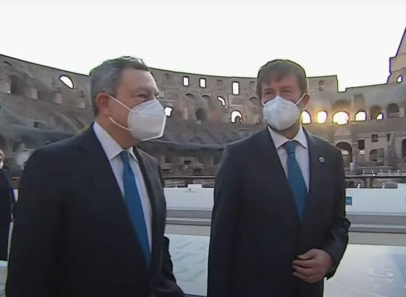 Tra Draghi e Franceschini sgarbi sull'Archivio di Stato. In vista del Quirinale